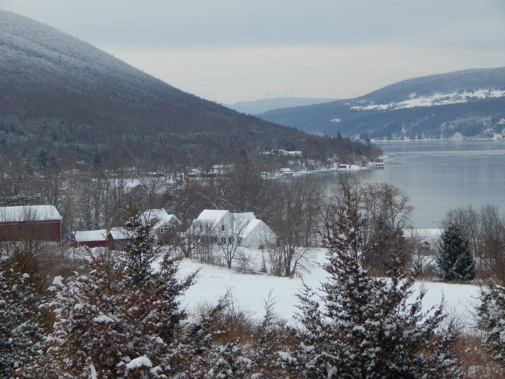 Bare Hill and Canandaigua Lake