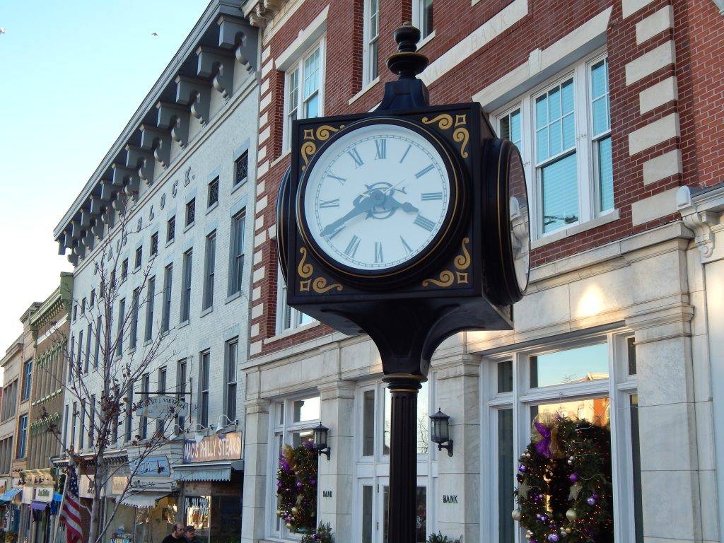 The Clock at Canandaigua National Bank