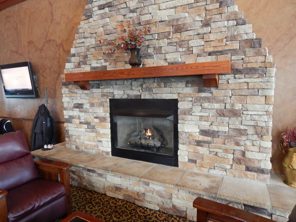 The Fireplace at the Stonecutter