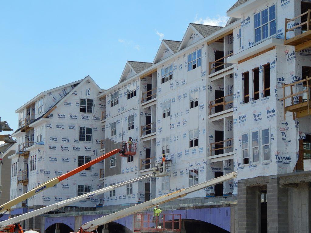 Construction at Pinnacle North, Canandaigua