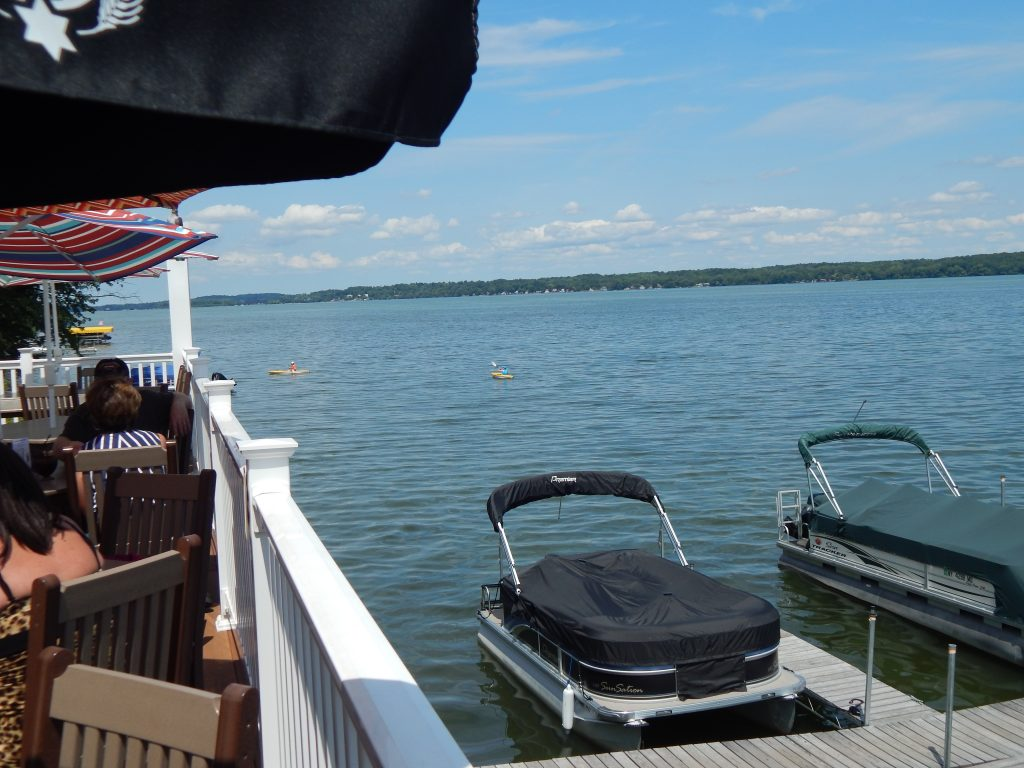 Cayuga Lake from Wolffy's Deck