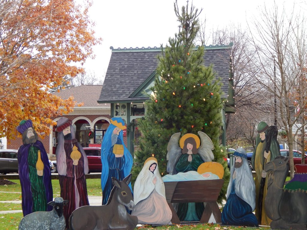 The Manger Scene in Hammondsport