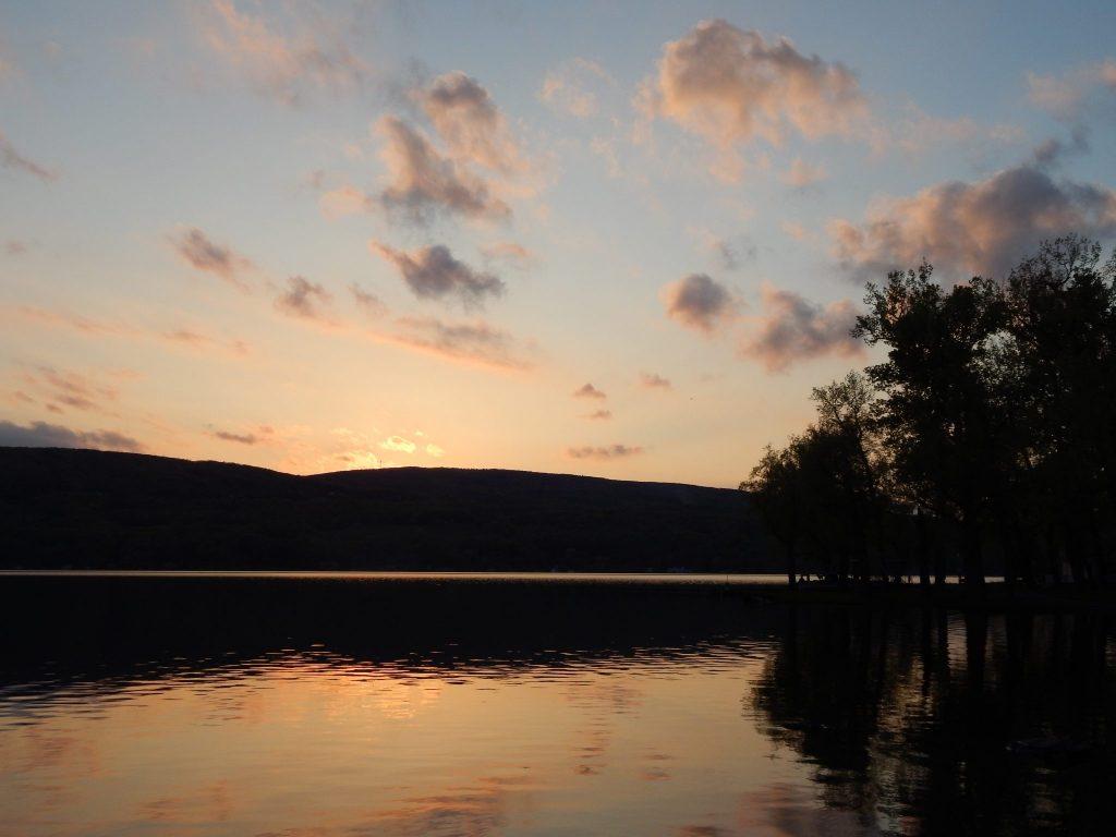 Sunset at Vine Valley